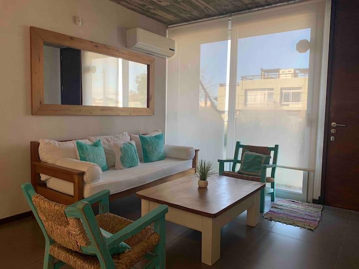 2 bedrooms cozy beach apartment Manantiales