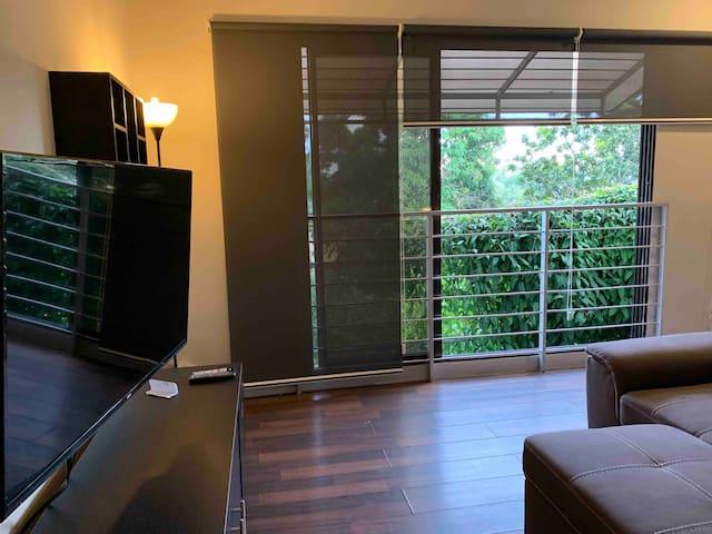 Luchi's new apartment in Colonia Escalón