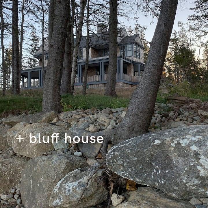 Bluff House - Dunham Point, Deer Isle, Maine