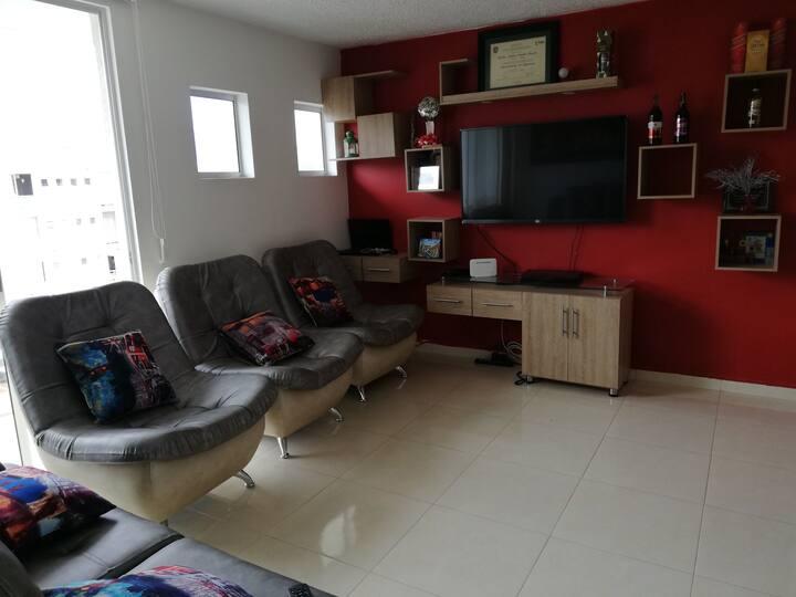 Tranquilidad y comodidad en apartamento