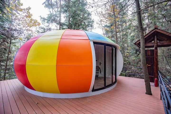张家界森林公园彩虹玻璃屋