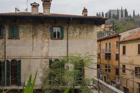 An antic hidden borough in Verona