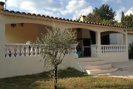 Vacances en Provence verte - Brue-Auriac - 别墅