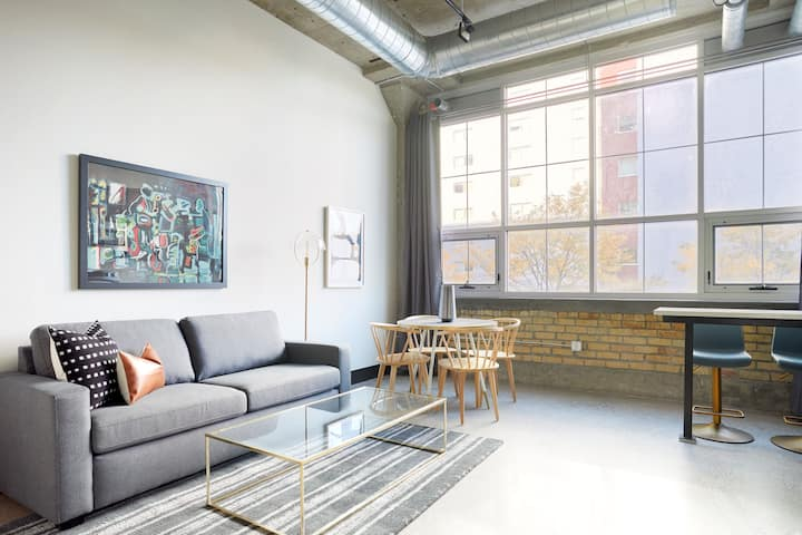 Sonder at MAX | Beautiful 1BR in Prospect Park