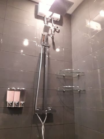 shower room just been renovated