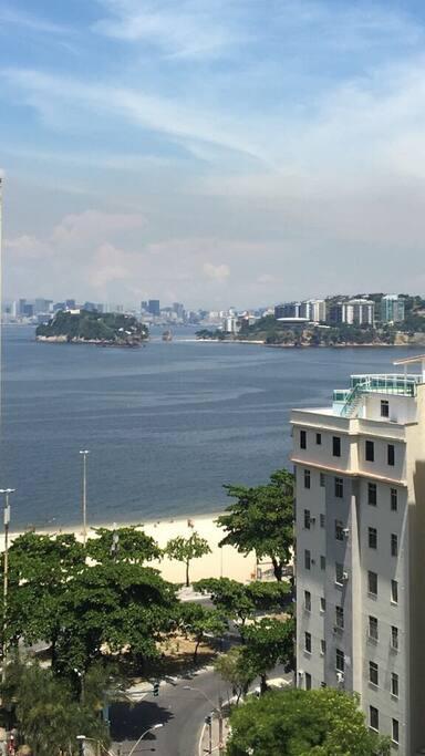 Bela Vista para a Praia de Icaraí, MAC e Rio de Janeiro ao fundo