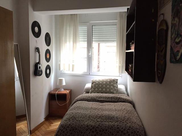 Habitación Individual Acogedora en zona Céntrica - Santiago de Compostela - Appartement