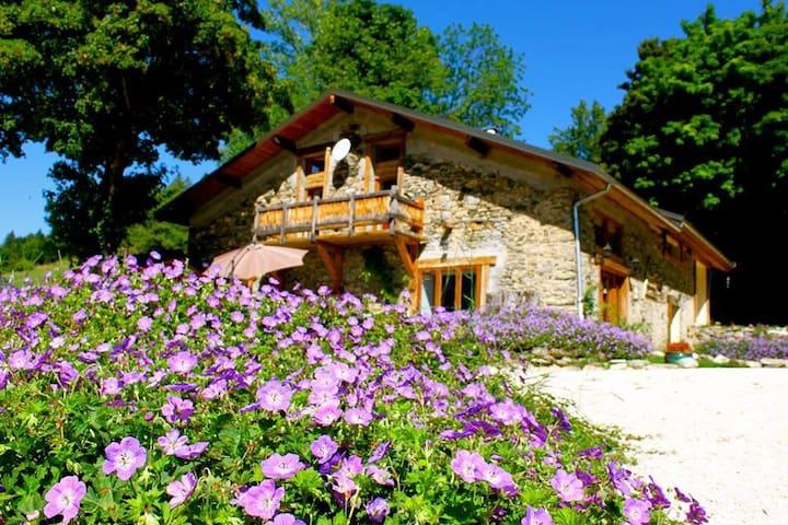 Chalet au coeur des alpages: jacuzzi, sauna