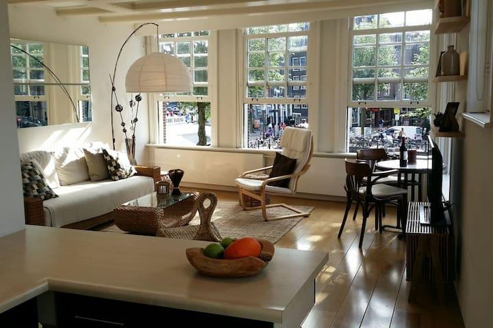 Romantic, central, amazing canal views! - Amesterdão - Apartamento