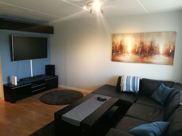 Great apartment close to OSL, Oslo, Trading fair.