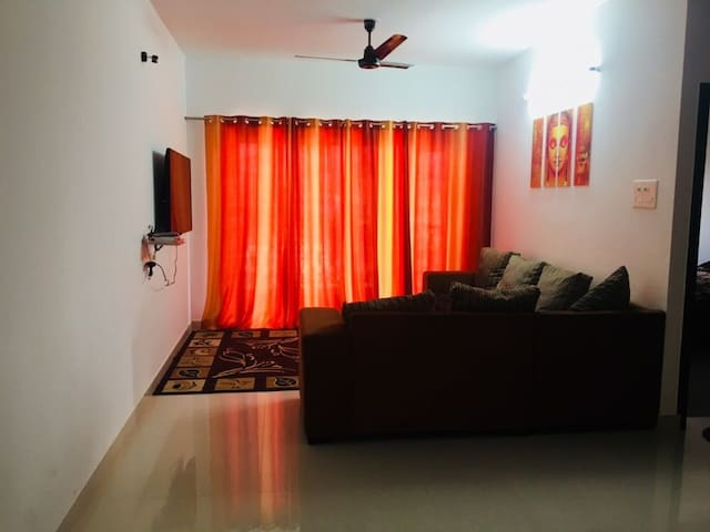 Sai Deep - 2BHK (AC) Apartment inside city limits