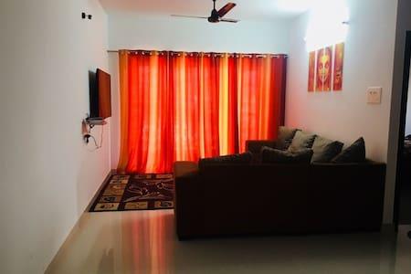 Sai Deep - 2BHK (AC) Apartment inside city limits