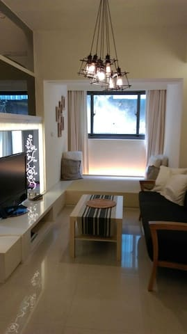 1 Min to MRT/ Relax home in downtown Taipei/日本語OK - Xinyi District - Loft