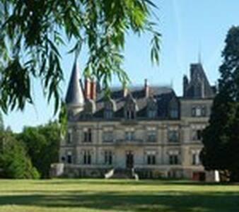 Chambre Hadrien au château Boisrenault - Buzançais