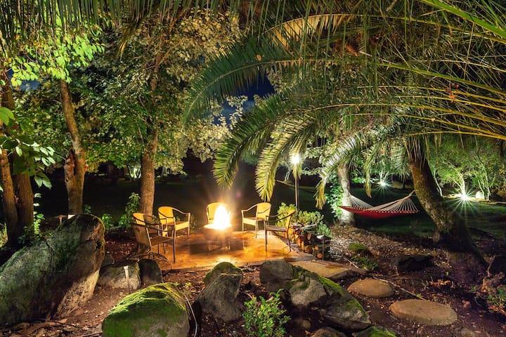 Log Cabin Nestled on 10 acres of Natural Beauty