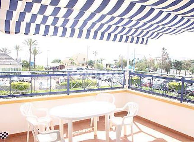 Great duplex,penthouse,1st line Vera Beach Almeria - Vera - Rumah
