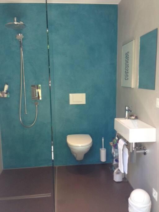 Dusche/WC en suite
