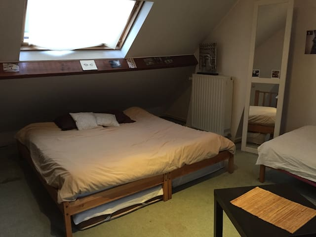 Chambre 20m2 -dans maison de maître - Etterbeek - Ev
