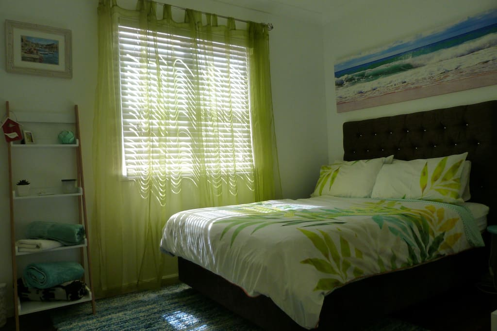 Double Bed with ceiling fan