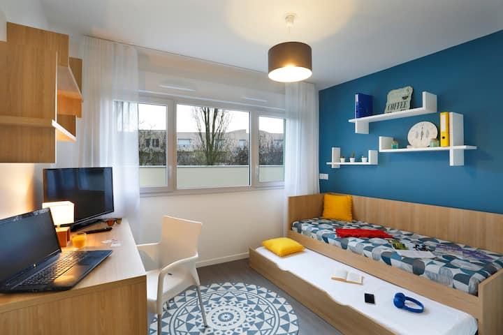 Charmant studio de 20m² - Rennes Villejean A102