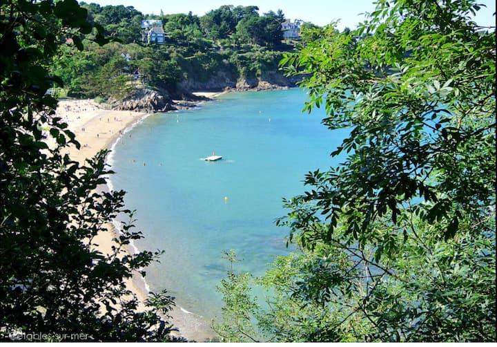 Maison de vacances secteur recherché plage à 180 m