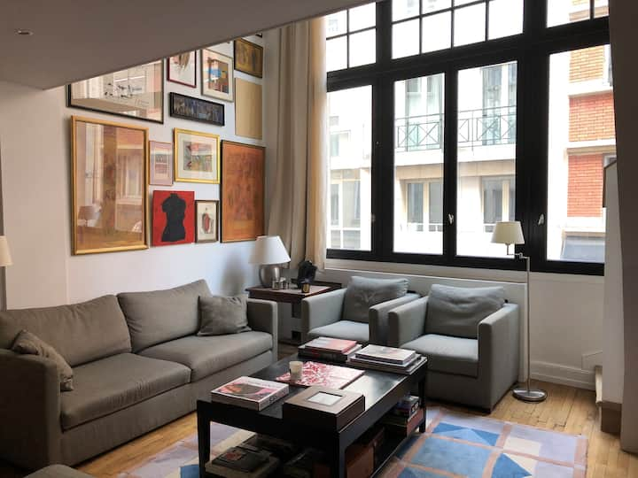 Artist loft near the eiffel tower