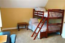 Bunk beds in 2nd room.