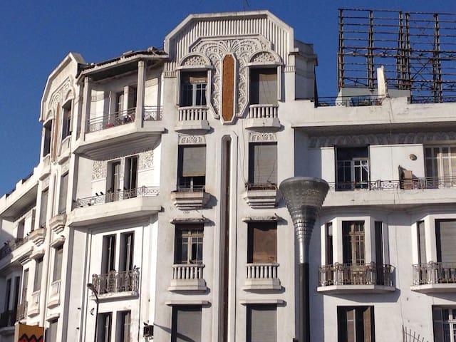 Jolie appartement au centre - Maarif - Apartamento