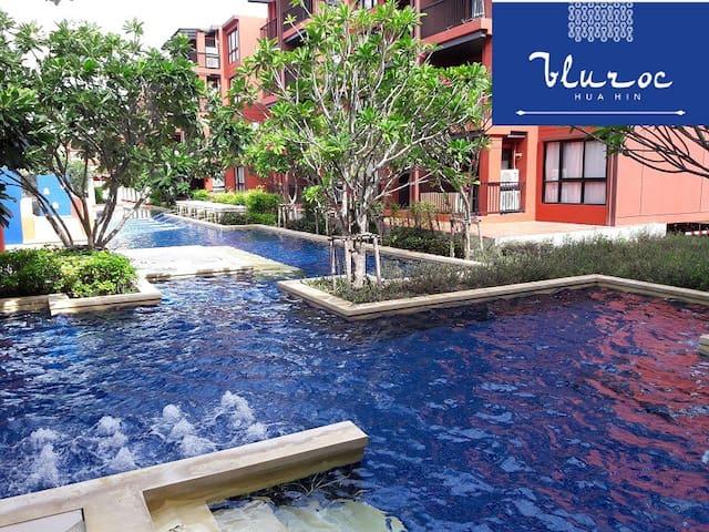 Bluroc Hua Hin - 1 Bedroom Pool Access 15/584