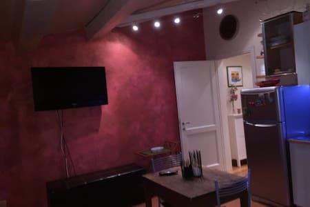 Affascinante mansarda - 雷杰諾 - 公寓