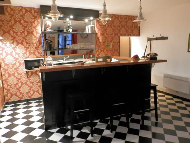 Studio Bistrot baroque centre ville historique
