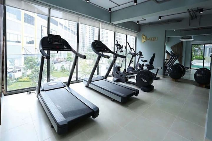 A gym on the 3rd floor.