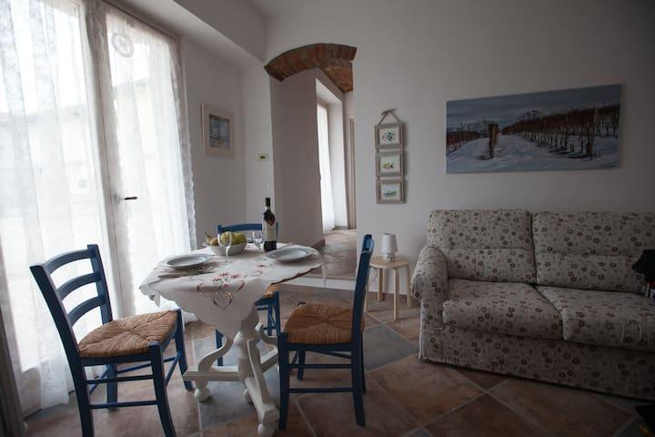 Il Vecchio Cortile (Dolcetto) - Treiso - Lägenhet