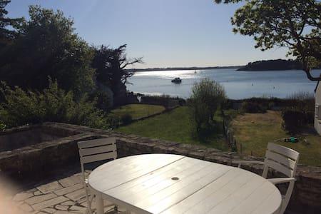 Ile-aux-Moines-Maison au bord du golfe du Morbihan - Île-aux-Moines - 独立屋