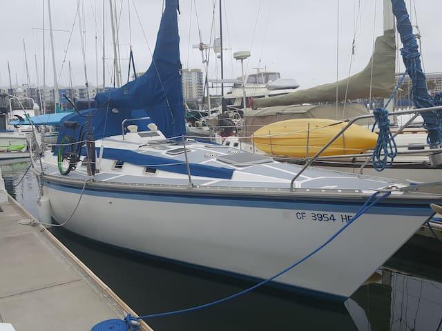 Live like a pirate! Hunter 34 foot sailboat! - Marina del Rey - Boat