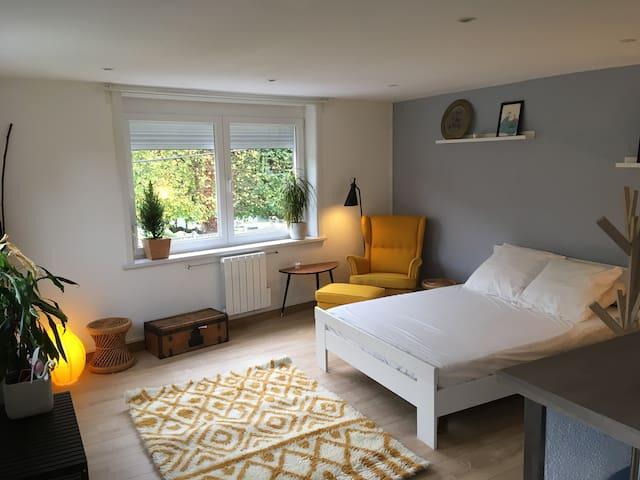Studio cosy indépendant *** Mouvaux ***
