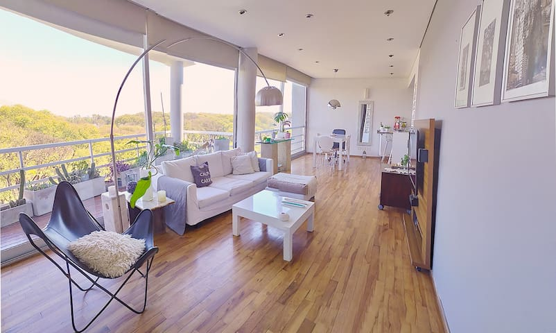 luxury duplex with panoramic view and pool