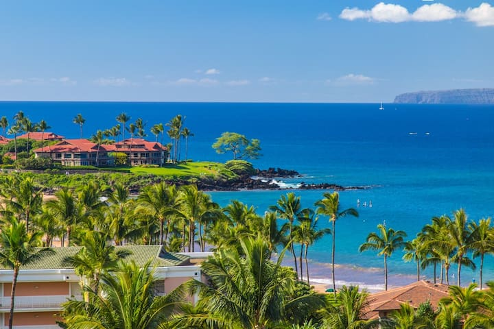 APRIL SAVINGS:VACATION IN YOUR OWN PRIVATE MAUI PARADISE! WAILEA SEASHORE K507,Top Floor Ocean View!