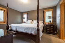 This is the Master Bedroom (Bedroom #1). It's a King, and it also has a walk-in closet and ensuite.