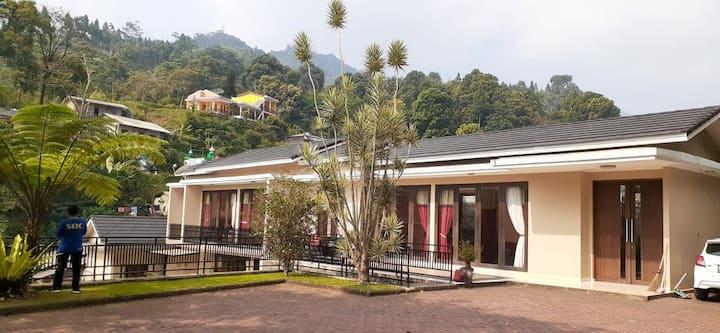 Villa 4 kamar di puncak cisarua