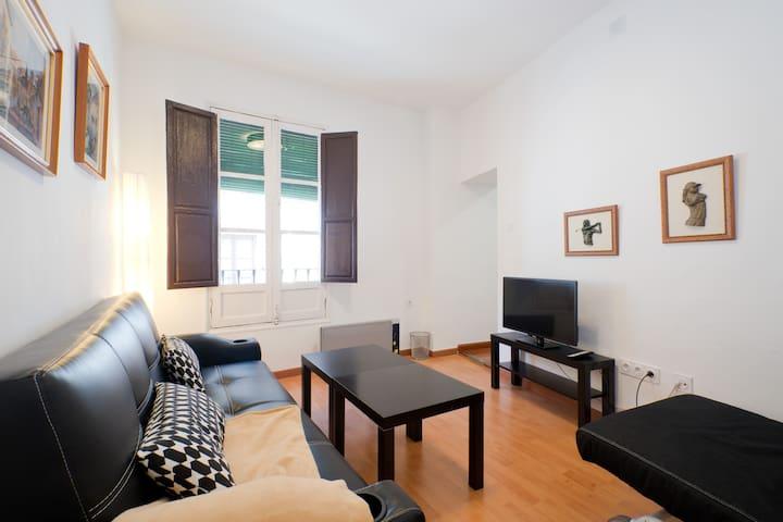 ALBAYCIN, Apartamento con vistas Alhambra 2/4 px - Grenada - Lägenhet