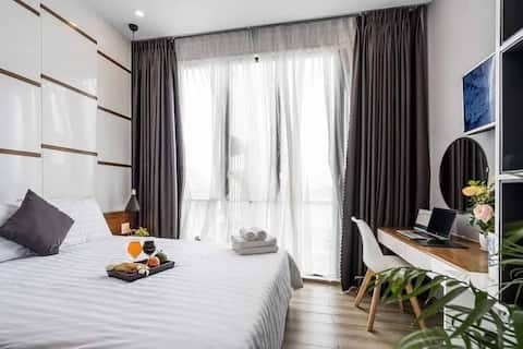 Luxury Double Room★Near Night Market and Beach