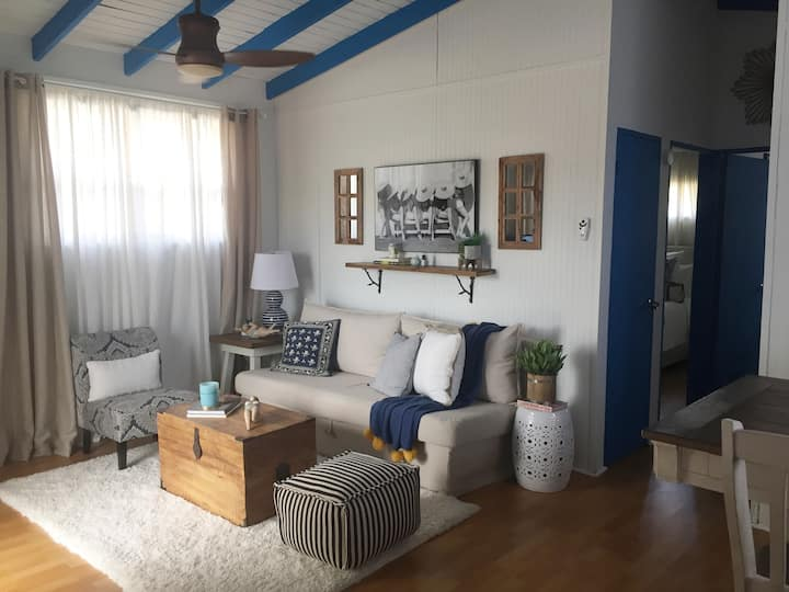 NEW! Cozy Beach Cottage at Boqueron, WiFi, full AC