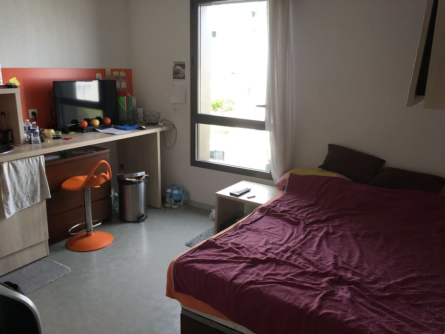 Studio tout quip proche de bordeaux appartements for Location appartement proche bordeaux