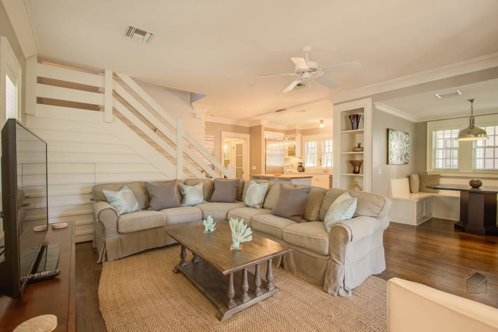 Everyone will love the open concept living space.