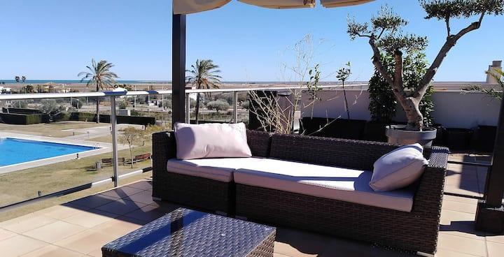 Grand appartement terrasse de standing