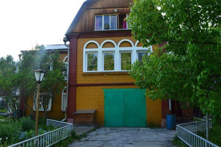 Сибирская усадьба / Siberian estate - Utulik - Ev