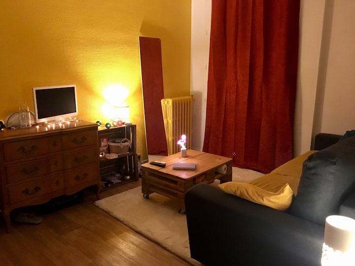 Petit appartement cosy région parisienne