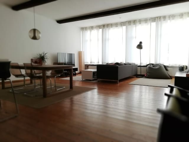 Fantastic large Loft located in old city center