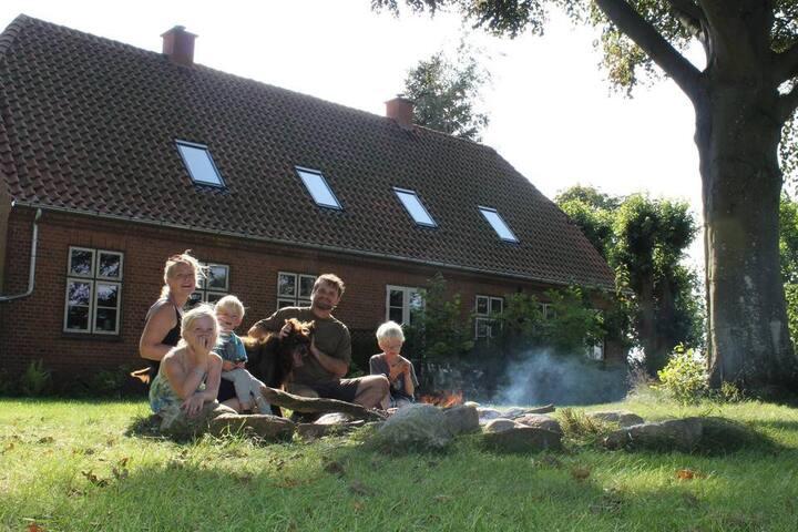 A farm like home - flat on sustainable family farm